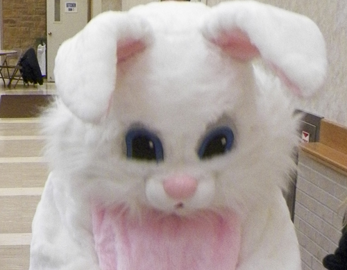The Easter Bunny.