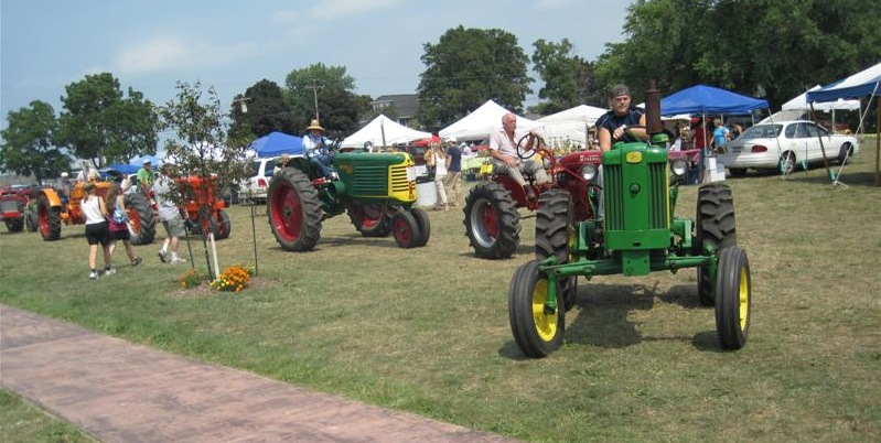What's a Farm Festival without tractors?