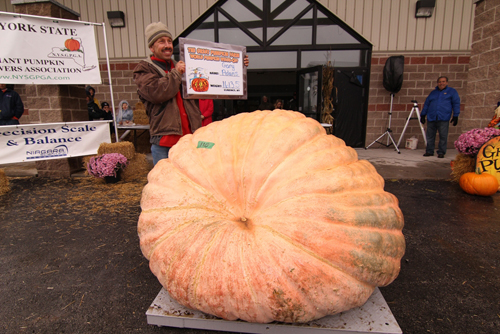 The 2012 edition of the World Pumpkin Weigh-Off begins at 10 a.m. Sunday at the Great Pumpkin Farm, 11199 Main St., in Clarence.