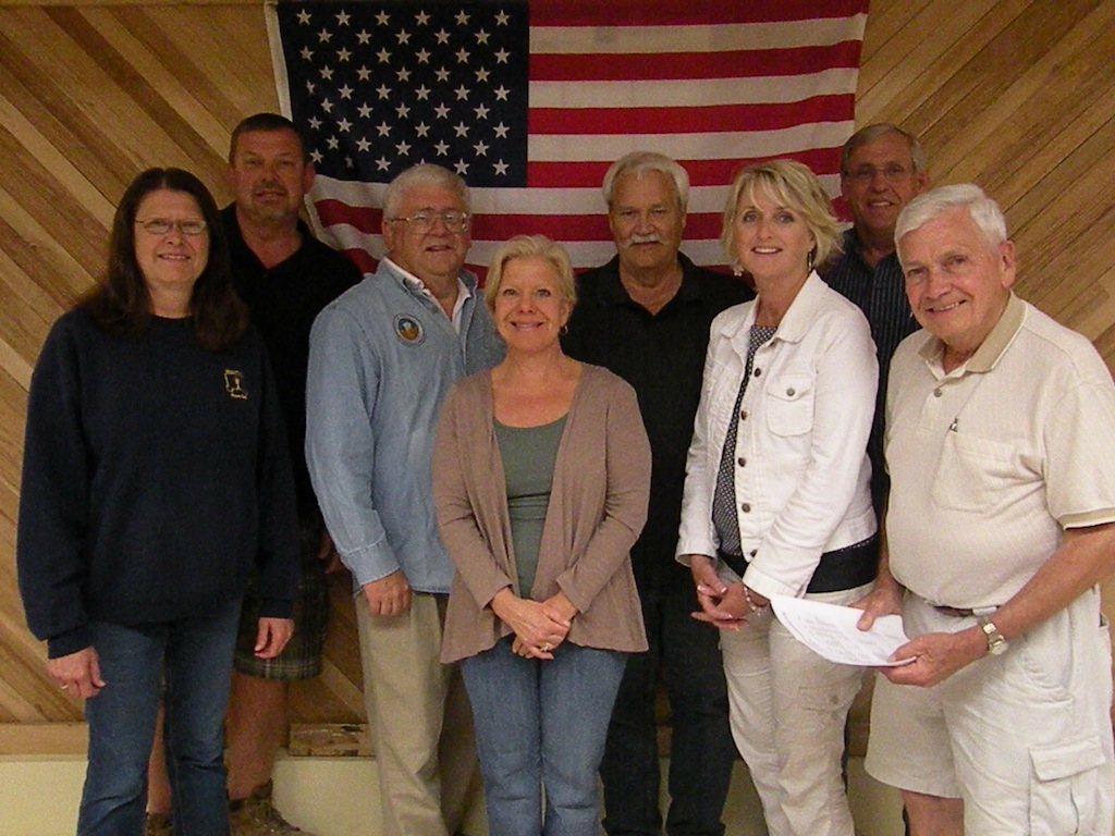 Members of the Town of Wheatfield Republican Club's Picnic Committee.