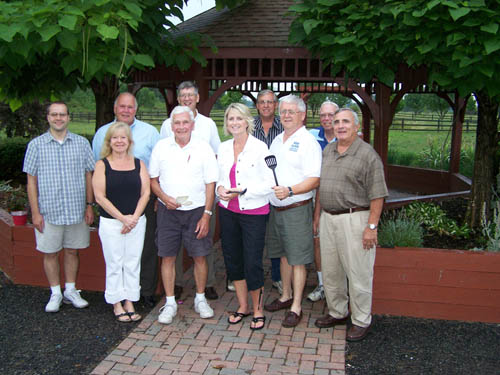 Shown are members of the Town of Wheatfield Republican Club's picnic committee: Back row, from left, Terry McIntyre, Gil Doucet, Larry Helwig, Art Kroening and Winston Moeller; front row, from left, Kathy Harrington, Jim Heuer, Kathryn Palka-Lance, Bob Cliffe and Bill Ross.